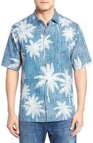 Tommy Bahama Palmatrix Short Sleeve Silk Sport Shirt