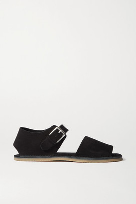 Acne Studios Suede Sandals - Black