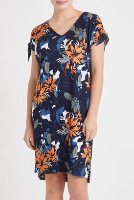 Sportscraft Skye Floral Linen Dress