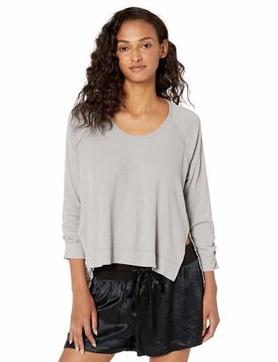 Splendid Women's Pajamas 3/4 Sleeve Pj Lounge Shirt