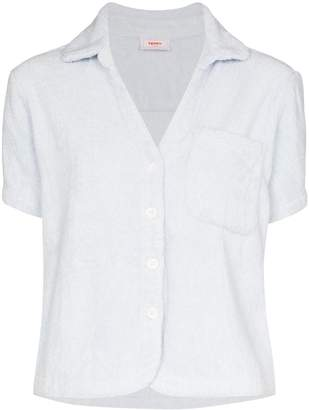 Terry TERRY CLASSIC CRUISE TOP SHT SS PKT PALE