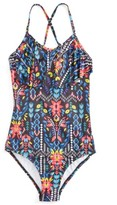 Seafolly Girl's Mexicana Fiesta One-Piece Swimsuit