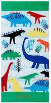 Pottery Barn Kids Allover Dino Kid Beach Towel
