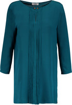 Vionnet Pleated silk blouse