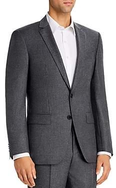 BOSS Huge Flannel Slim Fit Suit Jacket