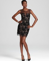 BCBGMAXAZRIA Cocktail Dress - Abigail Embroidered