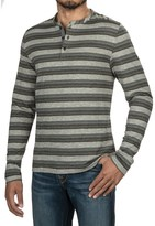 Jeremiah Glenn Twist Yarn Henley Shirt - Long Sleeve (For Men)