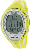 Timex Women's Ironman T5K789 Yellow Rubber Japanese Quartz Sport Watch