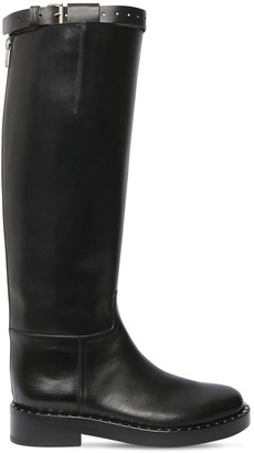 Ann Demeulemeester 40mm Leather Tall Boots