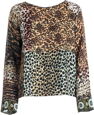Pierre Louis Mascia Pierre-Louis Mascia T-shirt Silk Animalier