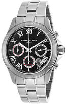 Raymond Weil 7260-ST-00208 Men's Parsifal Auto Chrono Stainless Steel Black