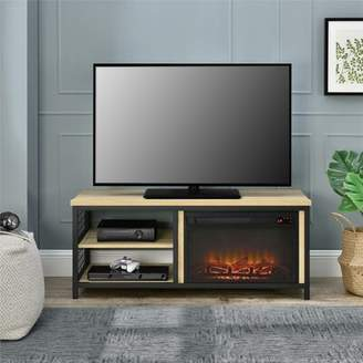 Gracie Oaks Navarro TV Stand for TVs up to 50 inches with Fireplace Included Gracie Oaks
