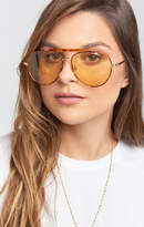 MUMU Crap Eyewear ~ The Road Cure Sunglasses ~ Tort/Gold Lens
