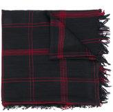 Bellerose checked scarf