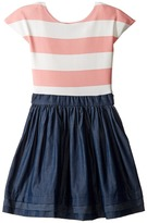 fiveloaves twofish - Stripe Abbie Dress Girl's Dress