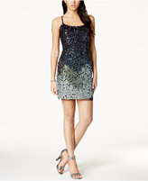 Adrianna Papell Sleeveless Beaded Bodycon Dress