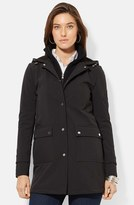 Lauren Ralph Lauren Women's Front Insert Hooded Soft Shell Jacket