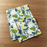 Crate & Barrel Lemon Tree Dish Towel