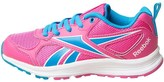 Reebok Junior Almotio RS Neutral Running Shoes Rose Rage/Wild Blue/White