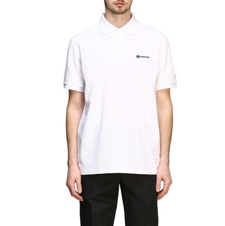 Burberry Short-sleeved Polo Shirt With Embroidered Logo