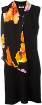 Lanvin floral scarf detail dress - women - Silk/Acetate/Viscose - 38