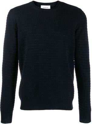 Dondup crew neck ribbed sweater