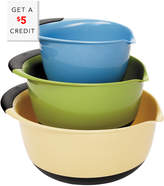OXO Good Grips 3 Piece Mixing Bowl Set With $5 Rue Credit