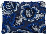 Forest of Chintz Electric Flora Clutch Bag
