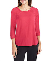 Donna Karan Jersey Raglan Sleep Top