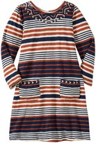 Pink Chicken Paris Dress (Toddler/Kid) - Multi Variegate Stripe - 3 Years