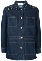 Sonia Rykiel embellished denim jacket - women - Cotton - 36