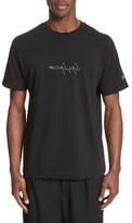 Yohji Yamamoto Men's X New Era Embroidered Script T-Shirt