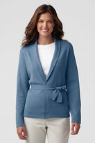 Lands' End Women's Plus Size Performance Shawl Cardigan