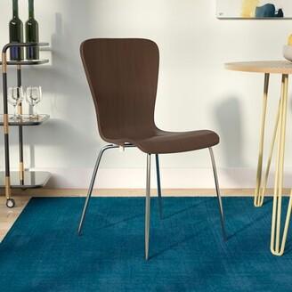 Ebern Designs Osterman Side Chair Ebern Designs Color: Espresso