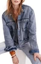 Madewell Boxy Crop Jean Jacket