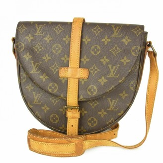 Louis Vuitton Chantilly Brown Leather Handbags