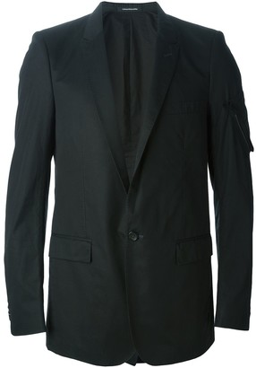 Nicolas Andreas Taralis Zip Pocket Detail Blazer