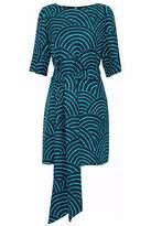 Vanessa Seward Silk-Jacquard Dress