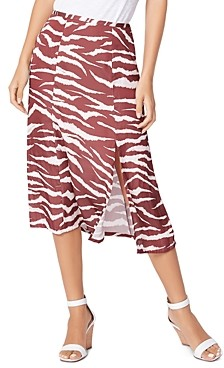 Paige Larsa Animal Print Skirt