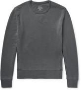J.Crew Garment-Dyed Loopback Cotton-Jersey Sweatshirt