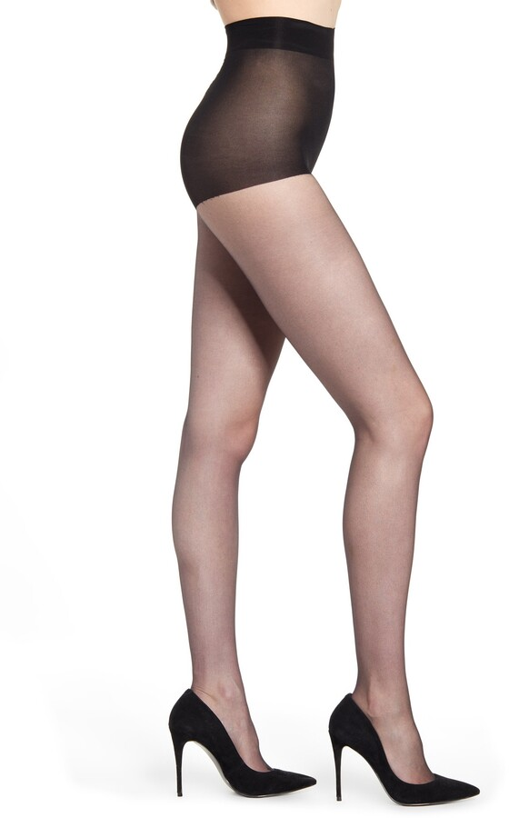 dd3609749 Ultra Sheer Black Pantyhose - ShopStyle