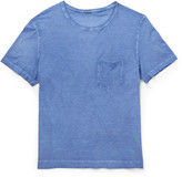 Massimo Alba - Slim-fit Garment-dyed Cotton-jersey T-shirt