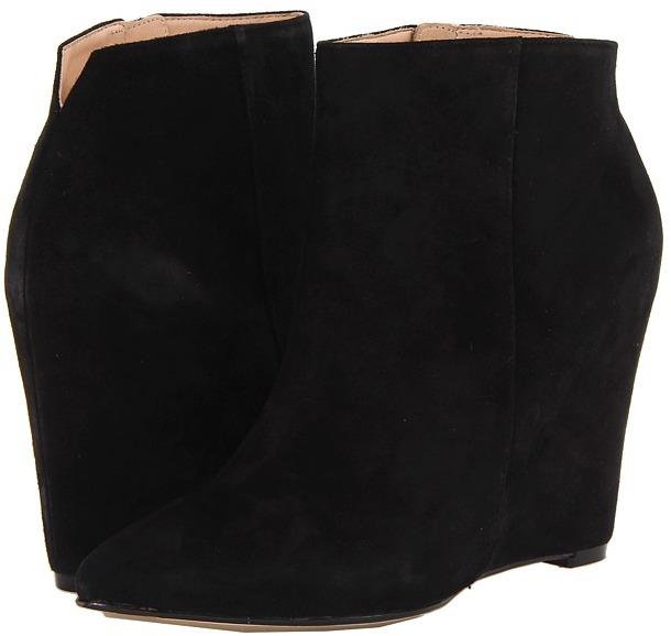 Cole Haan Verdi Bootie (Black Suede) - Footwear