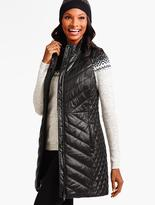 Talbots Cire Long Quilted Primaloft® Puffer Vest