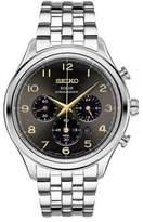 Seiko Chronograph Stainless Steel Bracelet Watch