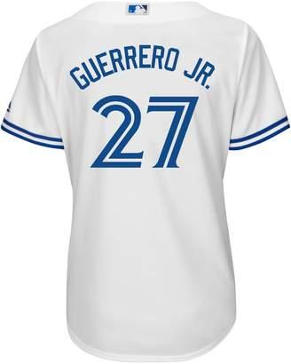 Majestic Vladimir Guerrero Jr. Toronto Blue Jays MLB Cool Base Replica Home Jersey