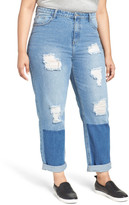 Glamorous Distressed Boyfriend Jeans (Plus Size)