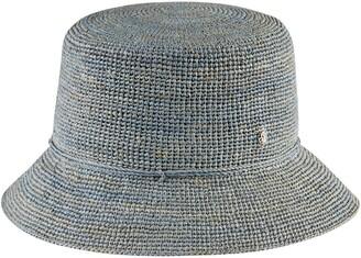 Helen Kaminski Packable Raffia Bucket Hat