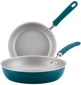 Rachael Ray Create Delicious Aluminum Nonstick Skillet Twin Pack