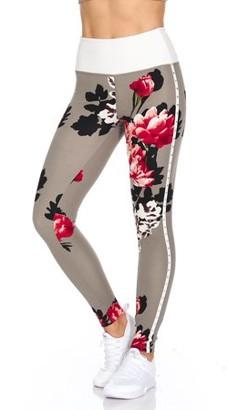 BSP Full length Highwaist Legging with large rhinestones